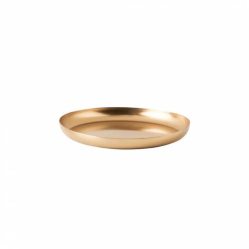 CARAT fém alátét 12cm arany