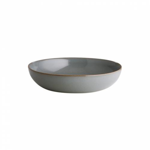 NATIVE tésztás tányér 21,5cm szürke