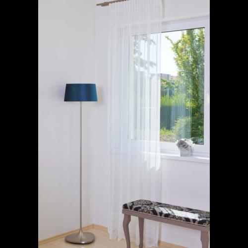 MILNA Törtfehér színű bordűrös készfüggöny ráncolóval, akasztóval és bújtatóval 300*290 cm