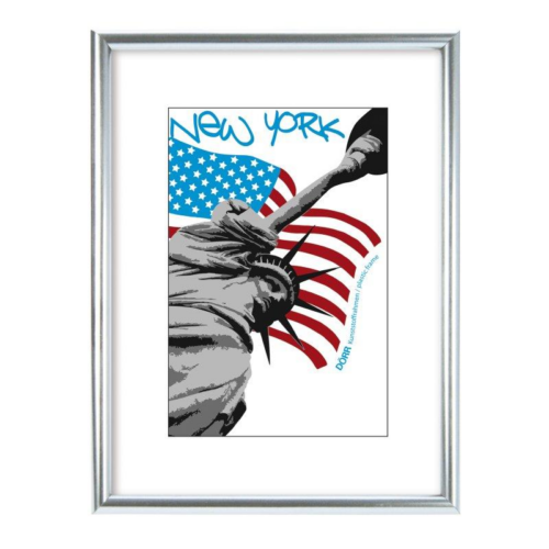 Dörr New York képkeret 18x24, ezüst