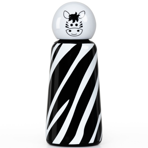 LUND Skittle Mini BPA mentes acél kulacs 300ML ZEBRA