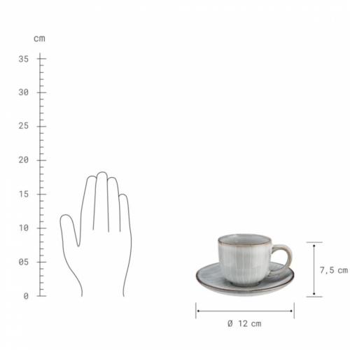 HENLEY eszpresszós csésze aljjal 60ml