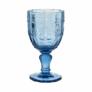 Kép 2/4 - VICTORIAN üvegpohár kehely kék 230ml