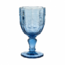 Kép 1/4 - VICTORIAN üvegpohár kehely kék 230ml