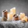 Kép 4/4 - ETERNAL FLAME LED gyertya 7,5cm