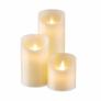 Kép 1/2 - ETERNAL FLAME LED gyertya szett 3db