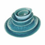 Kép 5/7 - DE LA ROYA tányér 28,7x24cm kék