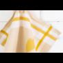 Kép 4/4 - TEA Okker színű konyharuha körte mintával 50*70 cm