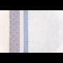 Kép 4/4 - INKA Asztalterítő fehér alapon sötétkék és szürke mintával 140*180 cm