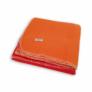 Kép 2/2 - Dressa Home kockás polár takaró 150x200 cm - piros