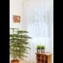 Kép 2/3 - VILMA Fehér színű készfüggöny ráncolóval, akasztóval és bújtatóval 300*300 cm