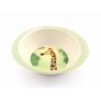 Kép 1/6 - Yuunaa bambusz gyerek étkészlet - zsiráf