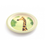 Kép 4/6 - Yuunaa bambusz gyerek étkészlet - zsiráf