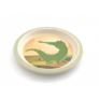 Kép 5/6 - Yuunaa bambusz gyerek étkészlet - krokodil