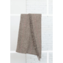 Kép 2/3 - NEPAL Barna színű, aprómintás pléd130*170 cm