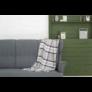 Kép 1/4 - NEPAL Szürke színű kockás pléd 130*170 cm