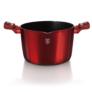 Kép 5/6 - Berlinger Haus Tészta és rizs főző edény fedővel, 24 cm, Metallic Line Burgundy Edition