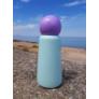 Kép 3/7 - LUND Skittle Mini BPA mentes acél kulacs 300ML Menta/Lila