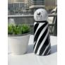 Kép 4/7 - LUND Skittle Mini BPA mentes acél kulacs 300ML ZEBRA