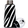 Kép 7/7 - LUND Skittle Mini BPA mentes acél kulacs 300ML ZEBRA
