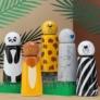 Kép 3/7 - LUND Skittle Mini BPA mentes acél kulacs 300 ML LION
