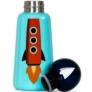 Kép 7/7 - LUND Skittle Mini BPA mentes acél kulacs 300ML ROCKET