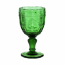 Kép 1/5 - VICTORIAN üvegpohár kehely sötétzöld 230ml
