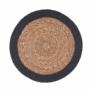 Kép 1/2 - SAUVAGE alátét natúr fekete szegéllyel 38cm